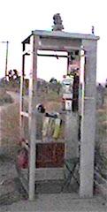 MOJAVE-PHONE-BOOTH a k a DESERT TELEPHONE or HAUNTED TELEPHONE