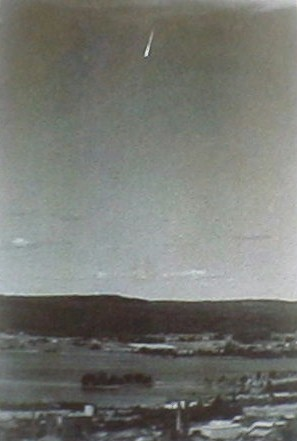 GHOST ROCKET, METEOR, 1940's